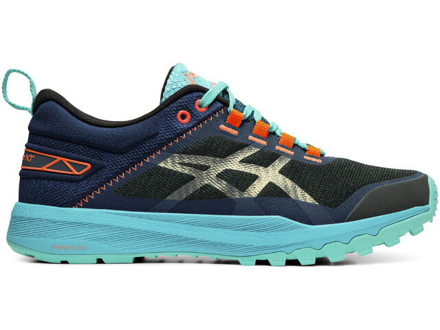 asics FujiLyte XT Schuhe Damen aquarium/black